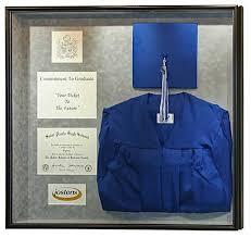 graduation cap frame how to make a shadow box for a graduation gown shadow box gowns
