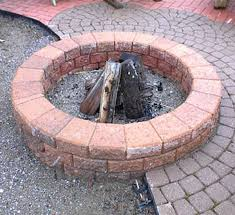How To Make A Fire Pit With Bricks - 20 the best diy yard brick projects decorextra
