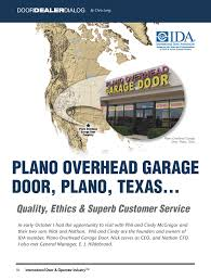 Overhead Door Carrollton Tx Our Story History Of Plano Overhead Garage Door Plano Overhead Door