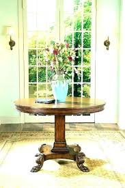 accent table for foyer foyer table ideas accent tables for foyer a black foyer table modern