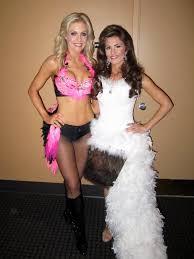 Custom Halloween Costume Pink Flamingo Burlesque Costume Las Vegas Showgirl Custom