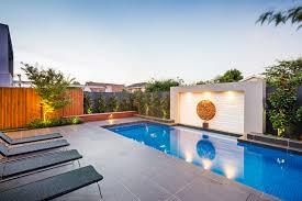 pool landscape design christmas lights decoration