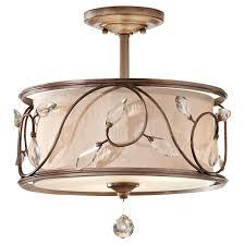 crystal semi flush mount lighting crystal semi flush mount pixball com