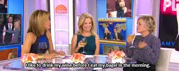 my gif gif amy poehler today wine the today show kathie lee