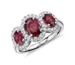 ruby diamond ring ruby oval cut diamond rings wedding promise diamond