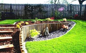 Backyard Slope Landscaping Ideas Backyard Landscaping A Slope On A Budget Sloped Backyard