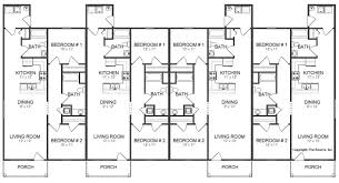 Floor Plan Source by Fourplex Plan J0512 17 4