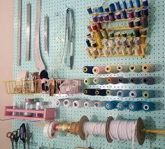 room organizer diy peg board sewing room organizer sirena patterns