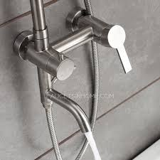 Quality Faucets Stainless Steel Brushed Nickel Outdoor Shower Faucets