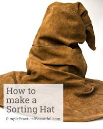 how to make a sorting hat sorting hat harry potter and harry