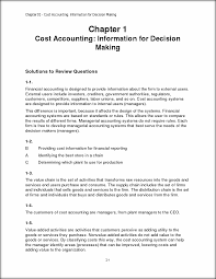 chapter 1 homework solution chapter 01 cost accounting