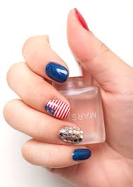 nail polish trends nail art designs 4th of july 2013 red white