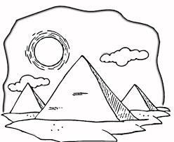 imagenes egipcias para imprimir dibujo de cálido desierto de egipto para colorear dibujos para