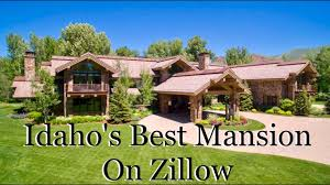 Idaho House by Most Expensive Mansion U0027s On Zillow Here U0027s Idaho U0027s Youtube