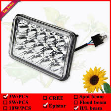 led lights for semi trucks semi truck led worklight 4x6 6x4 led sealed beam with 1year warranty