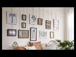 how to hang photo frames on wall without nails how to hang pictures on plaster walls youtube