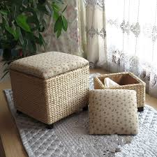 bedroom furniture sets ottoman storage ottoman black leather