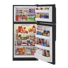 haier 18 1 cu ft top freezer refrigerator model hrt18rcwb top