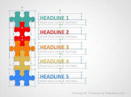 Powerpoint Templates Puzzle Puzzle List Diagram Powerpoint Template Puzzle Powerpoint Template Free