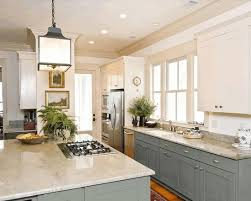 plain light blue wooden kitchen counter smooth white marble