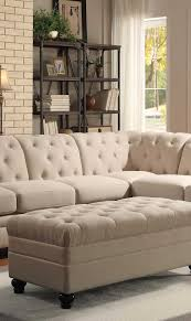 tufted sectionals sofa comfort and style is evident in this