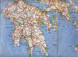 Greece On Map by Maps