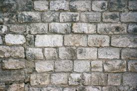 brick wall background outside of the house stock photo picture