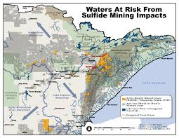 Chippewa National Forest Map Sulfide Mining Mntu Org