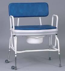 siege toilette pour handicapé chaise percée large réglable en hauteur