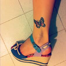 67 butterfly tattoos on ankle