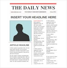 newspaper templates u2013 14 free word pdf psd ppt documents