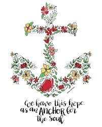 Love Anchors The Soul Print - blog off the wall home