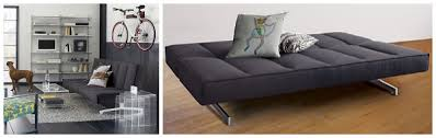 Gray Sleeper Sofa Small And Stylish Sleeper Sofas