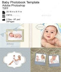 baby photo albums baby photobook album by fluffybunnywun1 graphicriver