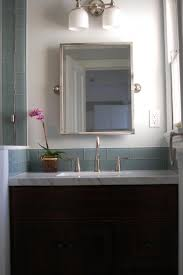 Bathroom Sink Backsplash Ideas Picturesque Glass Tile Back Splash In Bathroom With Mosaic Glass