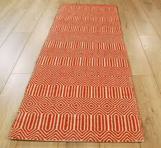 Orange Modern Rug Modern Rug Runner Dixie Furniture