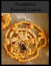 a sprinkle of this and that pumpkin funnel cakes