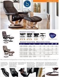 Small Chair And Ottoman by Ekornes Stressless Consul Small Classic Base Chair And Ottoman