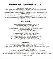 formal letter example 21 best formal letter templates free sample