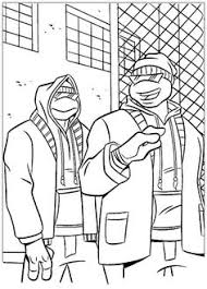 ninja turtle coloring pages remember