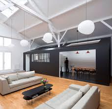 define livingroom house like boxes define living areas in this fresh parisian loft
