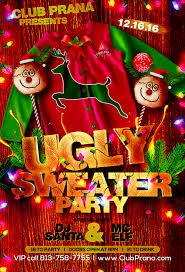 ybor city halloween ugly sweater party club prana tampa fl dec 16 2016 9 00 pm