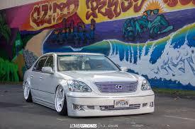 lexus ls430 aftermarket wheels vision in progress chris and janna u0027s lexus ls430 lower