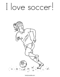 love soccer coloring twistynoodle sports
