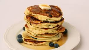 blueberry pancake recipe homemade blueberry pancake recipe laura vitale laura in the