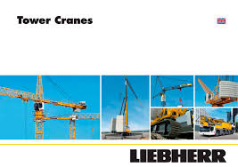 tower cranes liebherr pdf catalogues documentation brochures