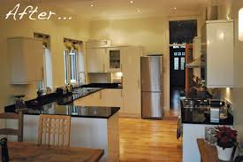 edwardian kitchen ideas a before and after modern edwardian kitchen with granite