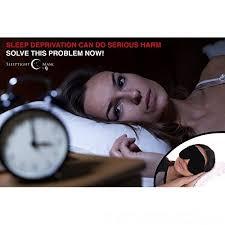 sleep mask light alarm mask soft travel blindfold with 100 light blocking comfortable
