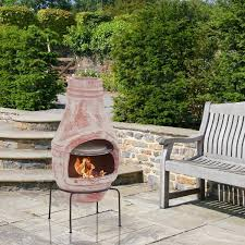 Chiminea Outdoor Fireplace Clay - outdoor cooking chiminea guide gear outdoor cooking chiminea