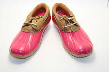 womens sperry duck boots size 11 sperry cormorant s shoes ebay